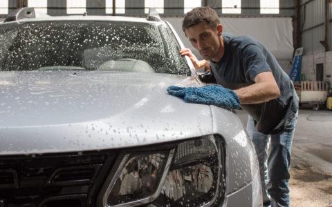 lavage manuel carrosserie