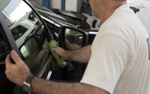 preparation exterieure vehicule neuf